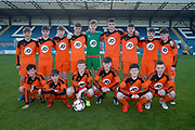 St. Johns team-  St.John's v Harris in the U15 Senior Sports Cup Final (sponsored by DSA) at Dens Park, Dundee<br /> <br /> <br />  - &copy; David Young - www.davidyoungphoto.co.uk - email: davidyoungphoto@gmail.com
