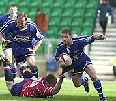 20020428  Gloucester Rugby vs Sale, Parker Pen Shield - Semi-Final