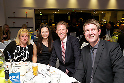 LIVERPOOL, ENGLAND - Wednesday, June 12, 2013: Guests during a Gala Dinner for the sponsors of the Liverpool Hope International Tennis Tournament hosted by Liverpool Hope University at Hope Park. (Pic by David Rawcliffe/Propaganda)