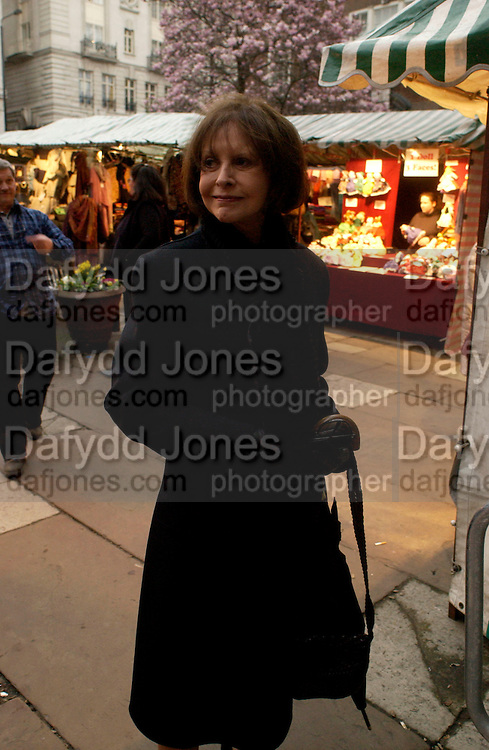 Marguerite Litman, Patrick Proctor memorial service. St. James's church, Piccadilly. 17 March 2004. ONE TIME USE ONLY - DO NOT ARCHIVE  © Copyright Photograph by Dafydd Jones 66 Stockwell Park Rd. London SW9 0DA Tel 020 7733 0108 www.dafjones.com