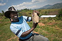 Nyambumera, Rwanda. 2011<br />