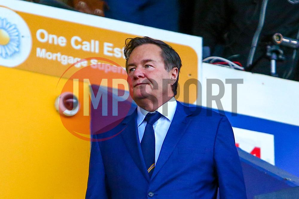 John Radford, owner of Mansfield Town - Mandatory by-line: Ryan Crockett/JMP - 17/11/2018 - FOOTBALL - One Call Stadium - Mansfield, England - Mansfield Town v Port Vale - Sky Bet League Two