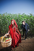 Little Red Riding Hood and The Wolfman for Maitland Tourism, 2010