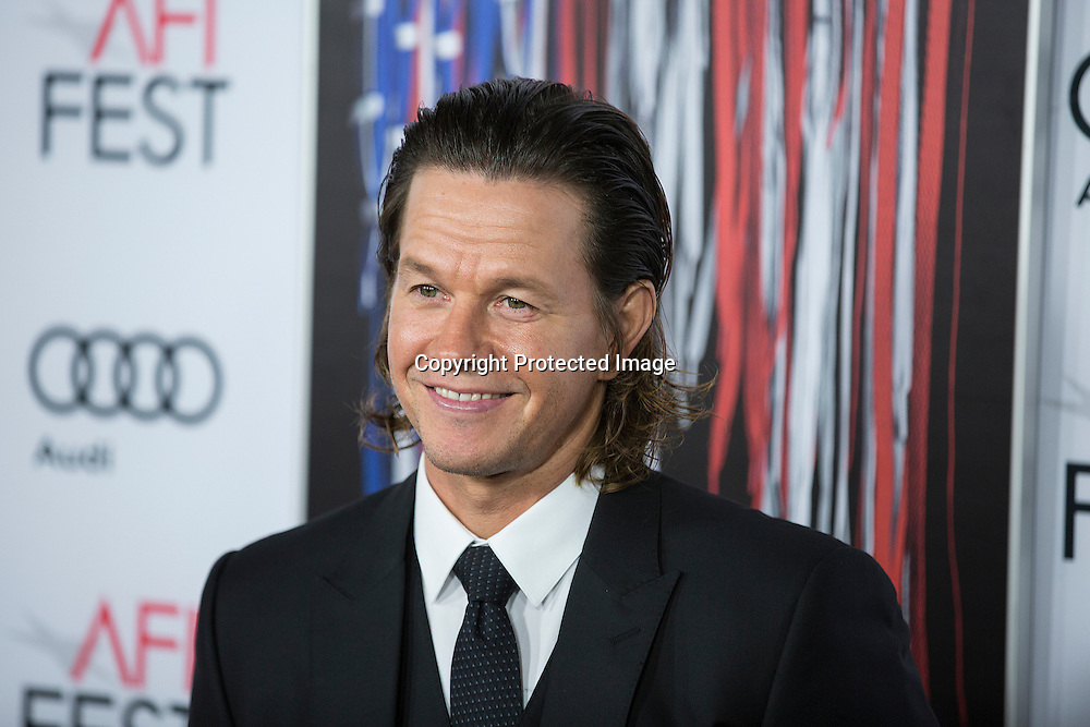 Producer/Actor Mark Wahlberg attends the AFI 2016 Fest presented by AUDI closing night screening of Patriots Day at TCL Chinese Theatre, Hollywood, CA on November 17th