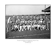 Interprovincial Railway Cup Hurling Final, .Leinster v Munster, .Munster Team.Leinster.0-9.Munster.0-5..17.03.1954, 03.17.1954, 17th March 1954,
