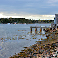 Bass Harbor on Mount Desert Island, Maine<br />