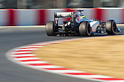 Sergio Perez (MEX) drives the Sauber F1 team C31 Formula One Testing, Circuit de Catalunya, Barcelona, Spain, World Copyright: Jamey Price