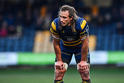 Anton Bresler of Worcester Warriors - Mandatory by-line: Craig Thomas/JMP - 27/01/2018 - RUGBY - Sixways Stadium - Worcester, England - Worcester Warriors v Exeter Chiefs - Anglo Welsh Cup