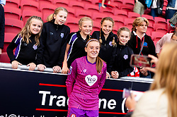 Sophie Baggaley of Bristol City after the final whistle of the match - Mandatory by-line: Ryan Hiscott/JMP - 07/09/2019 - FOOTBALL - Ashton Gate - Bristol, England - Bristol City Women v Brighton and Hove Albion Women - FA Women's Super League