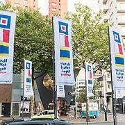 NLD/Rotterdam/20170825 - Wereldhavendagen 2017 spandoeken