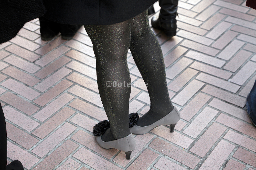 legs of young female person
