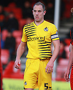 Bristol Rovers defender Mark McChrystal during the Sky Bet League 2 match between Crawley Town and Bristol Rovers at the Checkatrade.com Stadium, Crawley, England on 21 November 2015. Photo by Bennett Dean.