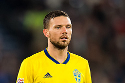 October 12, 2018 - Kaliningrad, RUSSIA - 181012 Fotboll, Nations League 181012 Fotboll, Nations League 181012 Fotboll, Nations League 181012 Marcus Berg of Sweden during the Nations League match between Russia and Sweden on October 12, 2018 in Kaliningrad. Photo: Petter Arvidson / BILDBYRÃ…N / kod PA / 92127   BildbyrÃ¥n - COP 7 - SWEDEN ONLY   BildbyrÃ¥n - COP 7 - SWEDEN ONLY. © BildbyrÃ¥n - COP 7 - SWEDEN ONLY (Credit Image: © Petter Arvidson/Bildbyran via ZUMA Press)