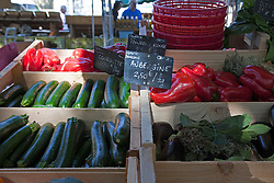 Thursdays are market day in this interesting small town across the Rhone River from Avignon.  Easily accessed by city bus, the market offers the freshest of locally grown foods, along with a wide variety of crafts and clothing, a good stop for regional souvenirs.