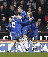 Copyright Sportsbeat. 0208 3926656<br />Picture: Henry Browne<br />Date: 03/03/2003<br />Aston Villa v Birmingham City Barclaycard Premiership<br />Geoff Horsfield celebrates scoring City's 2nd into an empty net