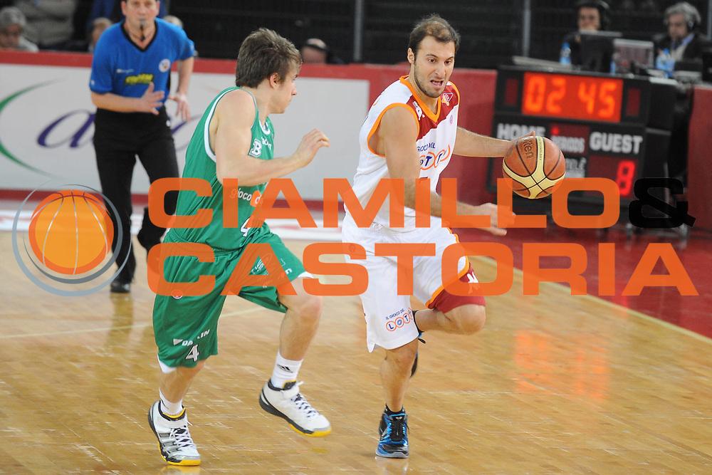 DESCRIZIONE : Roma Lega A 2009-10 Lottomatica Virtus Roma Benetton Treviso<br />GIOCATORE : Jacopo Giachetti<br />SQUADRA : Lottomatica Virtus Roma Benetton Treviso<br />EVENTO : Campionato Lega A 2009-2010 <br />GARA : Lottomatica Virtus Roma Benetton Treviso<br />DATA : 07/02/2010<br />CATEGORIA : Palleggio<br />SPORT : Pallacanestro <br />AUTORE : Agenzia Ciamillo-Castoria/GiulioCiamillo<br />Galleria : Lega Basket A 2009-2010 <br />Fotonotizia : Roma Campionato Italiano Lega A 2009-2010 Lottomatica Virtus Roma Benetton Treviso<br />Predefinita :