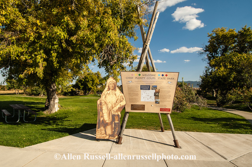 Chief Plenty Coups State Park, Crow Indian Reservation, Pryor Montana