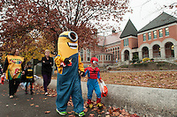 Holy Trinity Catholic School's annual Trunk or Treat parade.  Karen Bobotas/for the Laconia Daily Sun