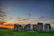 On a frigid morning west of London we observed a beautiful sunrise at Stonehenge. We got a special tour of the inner circle and the colors in the sky made a wonderful image.