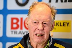 March 9, 2019 - –Stersund, Sweden - 190309 Wolfgang Pichler, head coach of Sweden at a press event during the IBU World Championships Biathlon on March 9, 2019 in Östersund..Photo: Petter Arvidson / BILDBYRÃ…N / kod PA / 92249 (Credit Image: © Petter Arvidson/Bildbyran via ZUMA Press)