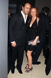 TOM FORD and STELLA McCARTNEY at a Burns Night supper in aid of Clic Sargent & Children's Hospital Association Scotland hosted by Ewan McGregor, Sharleen Spieri and Lady Helen Taylor at St.Martin's Lane Hotel, 45 St Martin's Lane, London on 25th January 2006.<br /><br />NON EXCLUSIVE - WORLD RIGHTS