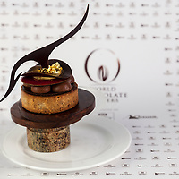 """Chirs Kwok's Best Classic Dessert Revisited """"Tarte au Sucre"""". World Chocolate Masters Canadian Selection, January 20, 2013."""