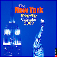 Pop Up Calendar, New York