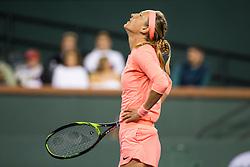 March 08, 2018: Victoria Azarenka (BLR) defeated Heather Watson (GBR) 6-4, 6-2 at the BNP Paribas Open played at the Indian Wells Tennis Garden in Indian Wells, California. ©Mal Taam/TennisClix/CSM/Sipa USA(Credit Image: © Mal Taam/CSM/Sipa USA)