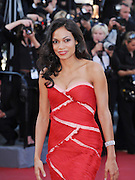 15.MAY.2011. CANNES<br /> <br /> ROSARIO DAWSON ON THE RED CARPET FOR THE PREMIERE OF THIS MUST BE THE LIFE AT THE 64TH CANNES INTERNATIONAL FILM FESTIVAL 2011 IN CANNES, FRANCE.<br /> <br /> BYLINE: EDBIMAGEARCHIVE.COM<br /> <br /> *THIS IMAGE IS STRICTLY FOR UK NEWSPAPERS AND MAGAZINES ONLY*<br /> *FOR WORLD WIDE SALES AND WEB USE PLEASE CONTACT EDBIMAGEARCHIVE - 0208 954 5968*