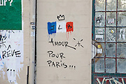 ATTACKS OF PARIS - STREET ART<br /> ©Exclusivepix Media