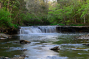 Photo of Horseshoe Falls in Caesar Creek State Park, near Waynesville, Ohio, in Warren County.
