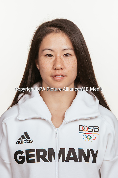 Kim Bui poses at a photocall during the preparations for the Olympic Games in Rio at the Emmich Cambrai Barracks in Hanover, Germany, taken on 12/07/16 | usage worldwide