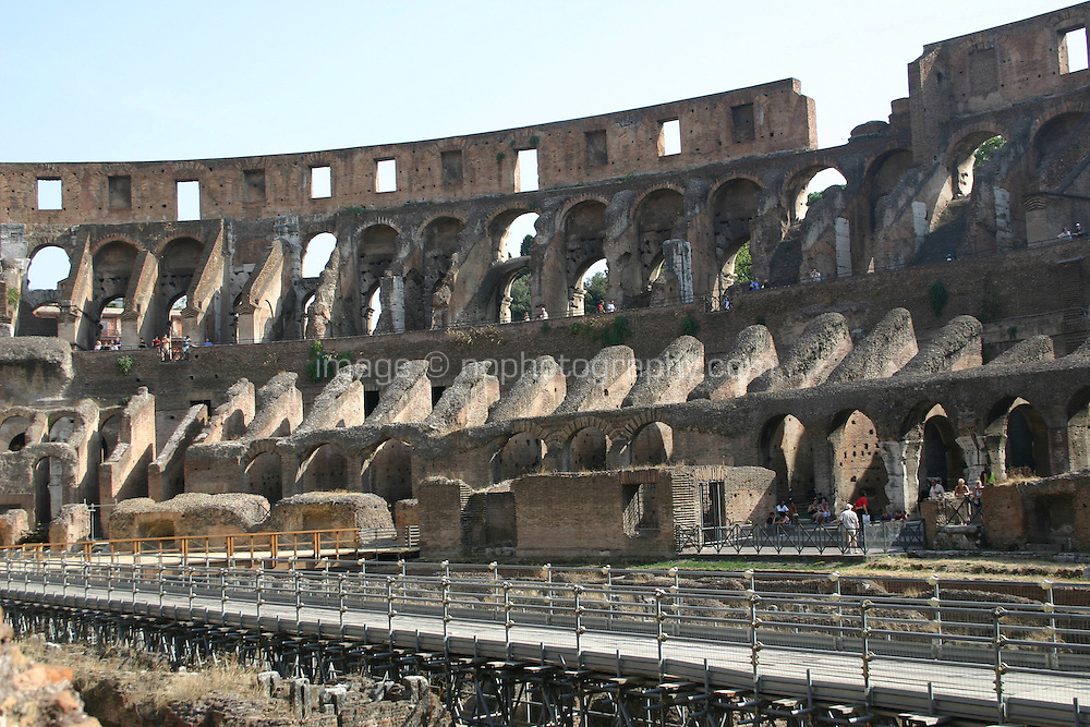 Ancient roman monument the Colosseum<br />