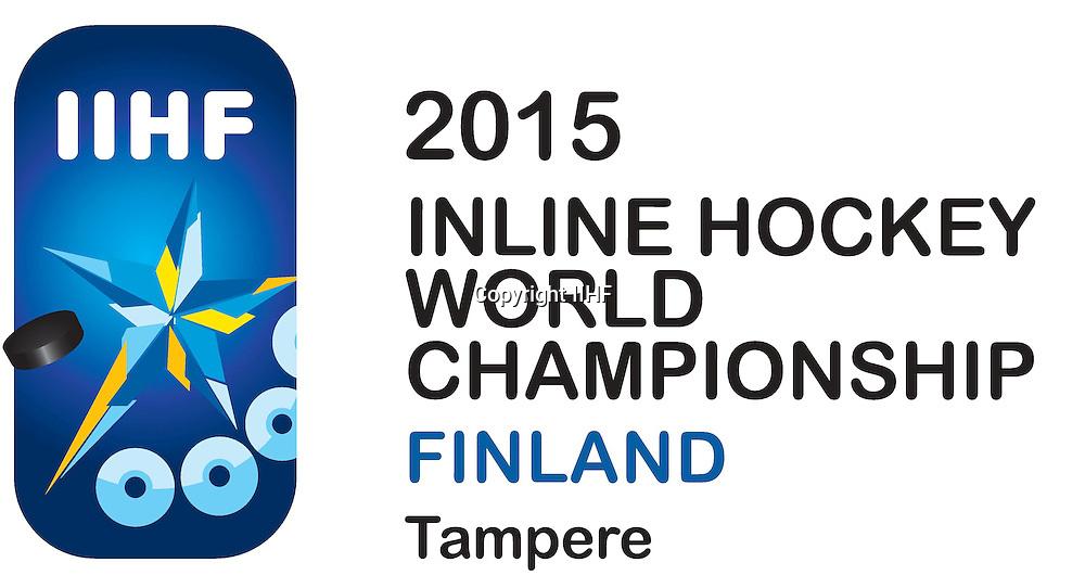 Rullakiekon 2015 MM-kisojen logo.