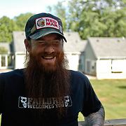 Matt Bischoff, BMX entrepreneur and rider. Anderson, Ohio.