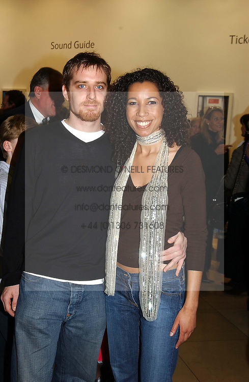 Radio & TV presenter MARGHERITA TAYLOR and MR ALI B at the Depal Trust 2in1 Art Party at The National Portrait Gallery, London on 25th October 2004.<br /><br /><br /><br />NON EXCLUSIVE - WORLD RIGHTS