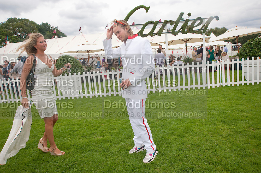 HOLLY BRANSON; SAM BRANSON, Cartier International Polo Day at the Guards Polo Club. Windsor. July 26  2009