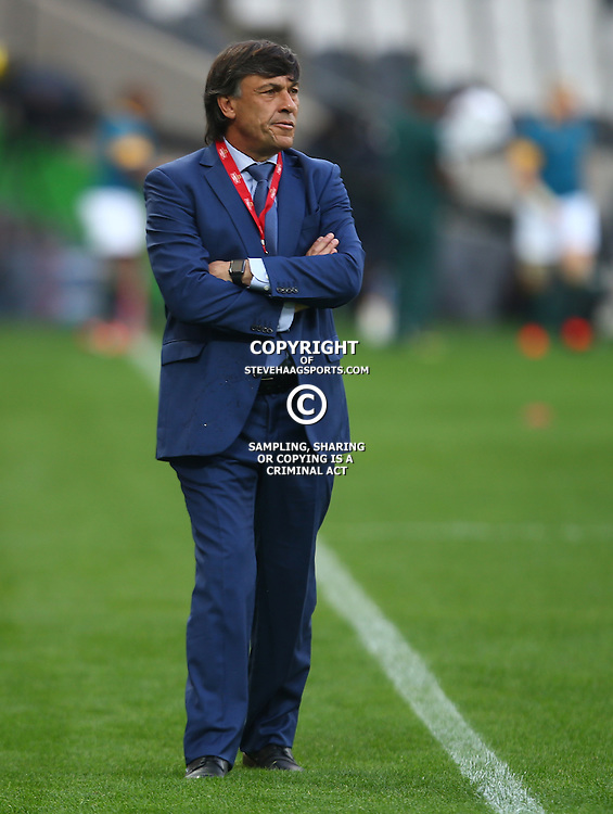 Nelspruit, SOUTH AFRICA, 20 August, 2016 -  Daniel Hourcade Argentina (Head Coach) during the match between South Africa and Argentina in The Rugby Championship at the Mbombela Stadium, Nelspruit (Photo by Steve Haag UAR)