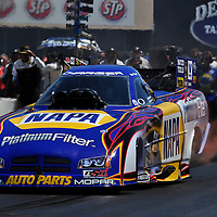 Ron Capps at Full throttle drag racing series, National Hot Rod Association 2011