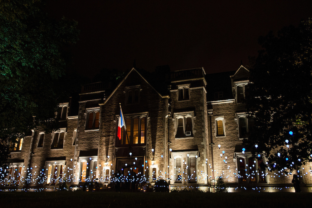 The French Ambassador's residence, site of the Bloomberg Vanity Fair White House Correspondents' Association dinner afterparty on Saturday, April 28, 2012 in Washington, DC. Brendan Hoffman for the New York Times