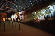 Interactive movie exhibit, Muhammad Ali Center, downtown Louisville, Kentucky