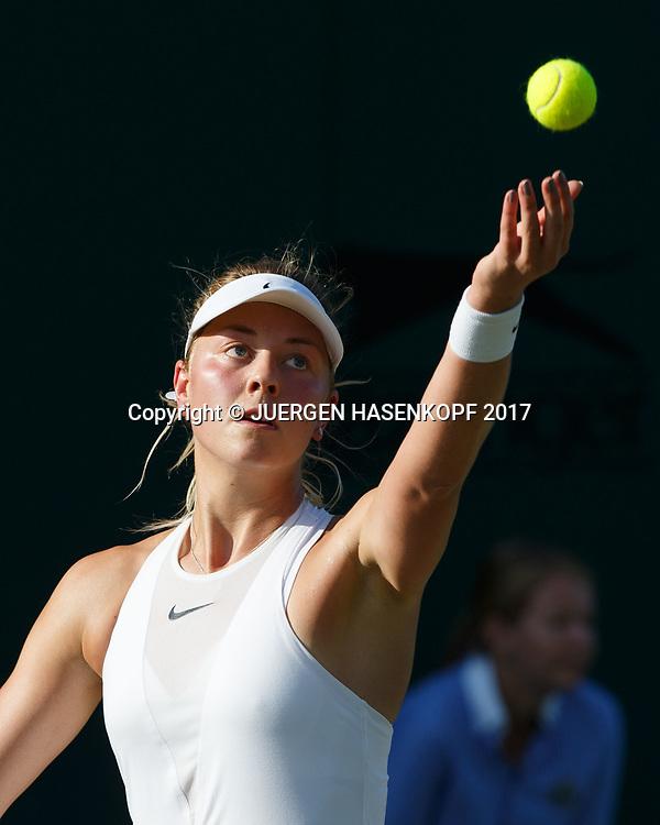 CARINA WITTHOEFT (GER)<br /> <br /> Tennis - Wimbledon 2016 - Grand Slam ITF / ATP / WTA -  AELTC - London -  - Great Britain  - 5 July 2017.