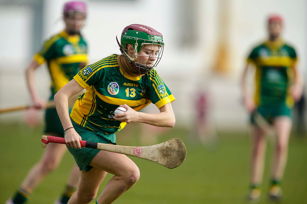 National Camogie League Division 2 at Trim, 20th March 2016<br /> Meath vs Galway<br /> Fia O`Brien in action for Meath<br /> Photo: David Mullen /www.cyberimages.net / 2016