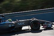 Circuito de Jerez, Spain : Formula One Pre-season Testing 2014. Esteban Gutierrez (MEX), Sauber-Ferrari