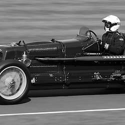 GOODWOOD REVIVAL.....Eddie Gibbs in a 1935 Fraser Nash Monoposto in the official practice for the Goodwood Trophy ..(c) STEPHEN LAWSON | SportPix.org.uk