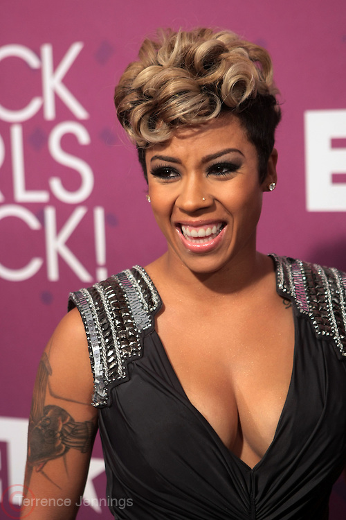 October 13, 2012- Bronx, NY: Recording Artist Keyshia Cole at the Black Girls Rock! Awards Red Carpet presented by BET Networks and sponsored by Chevy held at the Paradise Theater on October 13, 2012 in the Bronx, New York. BLACK GIRLS ROCK! Inc. is 501(c)3 non-profit youth empowerment and mentoring organization founded by DJ Beverly Bond, established to promote the arts for young women of color, as well as to encourage dialogue and analysis of the ways women of color are portrayed in the media. (Terrence Jennings)