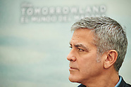 051915 George Clooney 'Tomorrowland' Spain Photocall