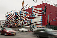 The new exterior of Petersen Automotive Museum.
