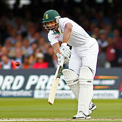 16/08/2012 London, England. South Africa's Alviro Petersen batting during the third Investec cricket international test match between England and South Africa, played at the Lords Cricket Ground: Mandatory credit: Mitchell Gunn