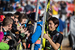 Naoki Nakamura (JPN) during  the Ski Flying Hill Individual Competition at Day 2 of FIS Ski Jumping World Cup Final 2019, on March 22, 2019 in Planica, Slovenia. Photo Peter Podobnik / Sportida